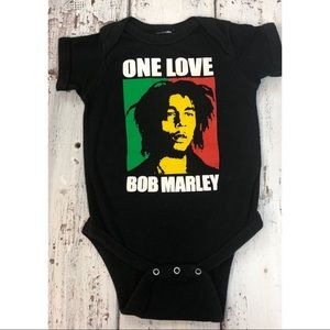 Bob Marley One Love Onesie